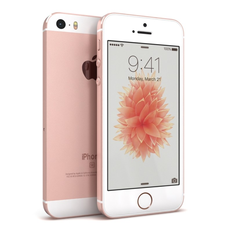 iphone se gold rose