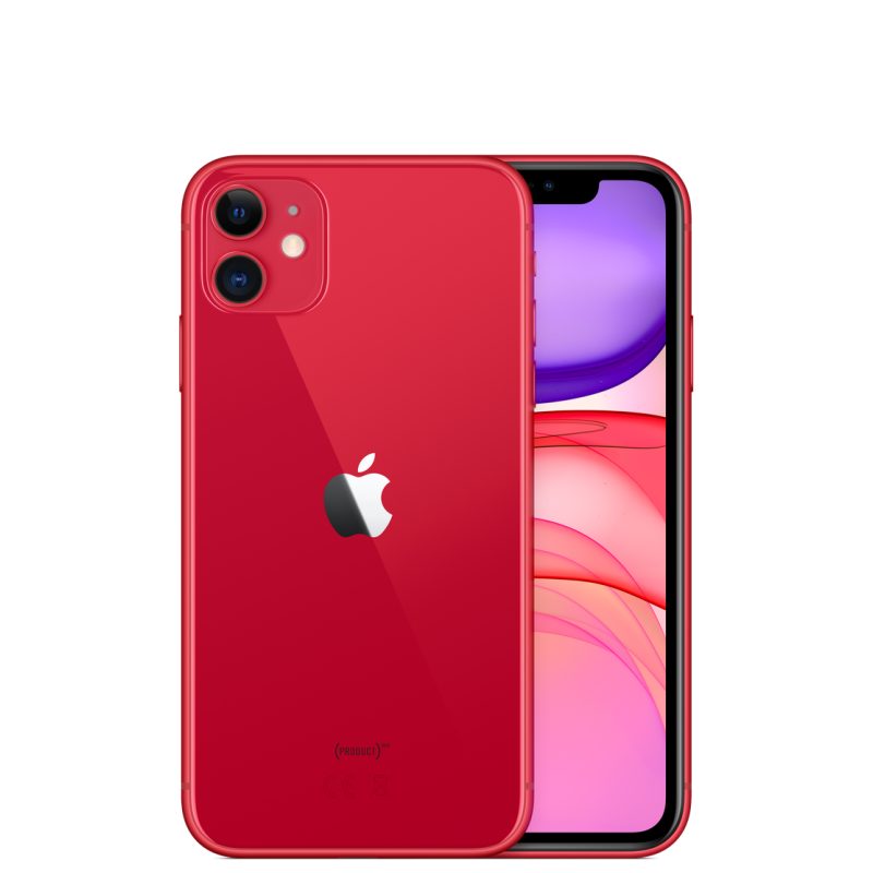 iPhone 11 rouge